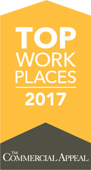 Top Work Places 2017 by the Commercial Appeal